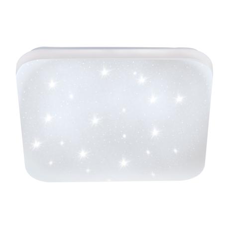 Zdobné stropní LED světlo čtvercového tvaru s délkou stran 33 cm FRANIA-S 97882