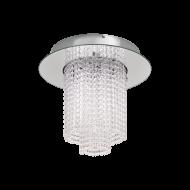 Stropní křišťálové LED svítidlo VILALONES 39396, v barvě chromu