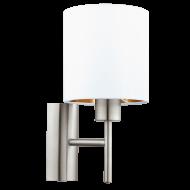 Nástěnná lampa bílá PASTERI 95053