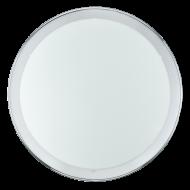 Kruhové stropní osvětlení chrom LED PLANET 31255