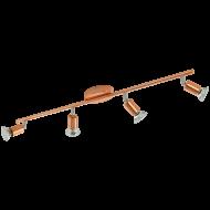 Stropní bodové osvětlení v mědi LED BUZZ-COPPER 94775