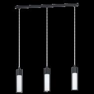 Závěsné LED svítidlo se třemi stínítky WALENA 96813
