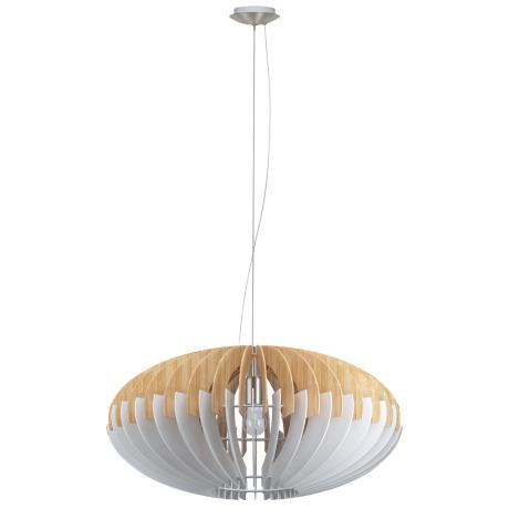 Závěsný lustr s dřevěným stínítkem SOTOS 96964