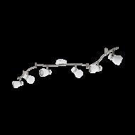Stropní bodové LED osvětlení, 6 stínítek ARBOLEDAS 97354