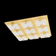 Stropní bodové LED osvětlení s podstavcem ve tvaru čtverce s délkou stran 47 cm VICARO 1 97729