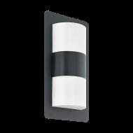 Venkovní nástěnné svítidlo CISTIERNA 98086, barevné provedení: antracit