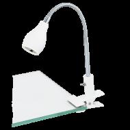 Kancelářská LED lampička s klipem NAIRA 1