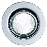 Podhledové bodové svítidlo v chromu EINBAUSPOTGU10