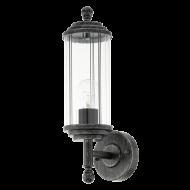 Rustikální venkovní lampa / lucerna  na stěnu domu 93992