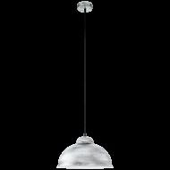 Závěsné osvětlení stříbrná patina TRURO 2 49389