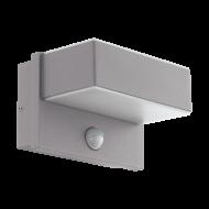 Venkovní nástěnné LED světlo s pohybovým senzorem AZZINANO 97159