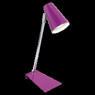 Pokojová lampička fialová TRAVALE
