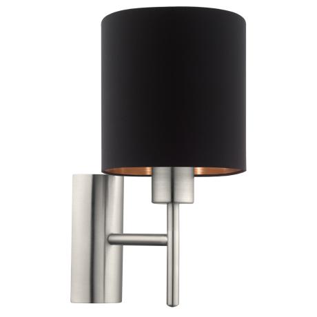 Nástěnná lampa černá PASTERI 95052