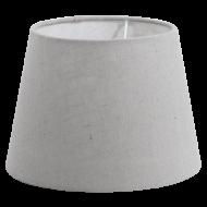 Stínítko textilní šedé 1+1 VINTAGE 49437