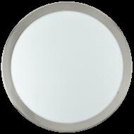 Kruhové stropní osvětlení nikl LED PLANET 31251