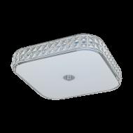 Čtvercové LED stropní svítidlo CARDILLIO 96004