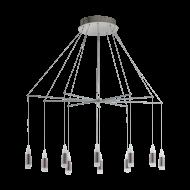 Závěsný LED lustr s dvaceti stínítky SANTIGA 39327