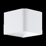 Bílé venkovní nástěnné LED svítidlo DONINNI 1 98266