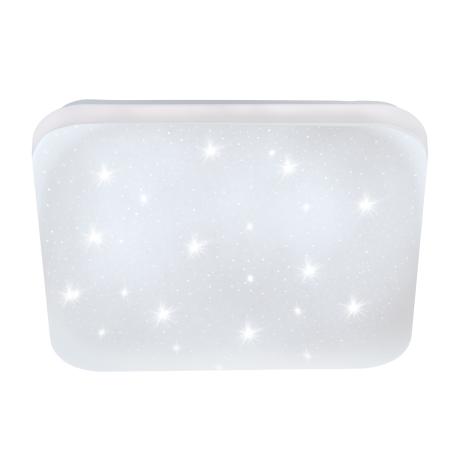 Zdobné stropní LED světlo čtvercového tvaru s délkou stran 43 cm FRANIA-S 97883
