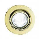 Podhledové bodové svítidlo v mosazi EINBAUSPOTGU10