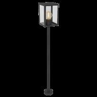 Venkovní lucerna / lampa sloupek černá ALAMONTE 1 94833