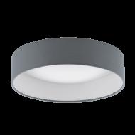 Stropní kruhové svítidlo antracit PALOMARO 93395