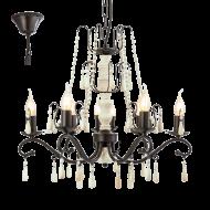 Rustikální závěsný lustr CHATTISHAM 49838