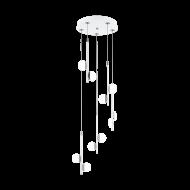 Spirálovitě řešený designový LED lustr OLINDRA 96932