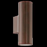 LED venkovní osvětlení hnědá RIGA 94105