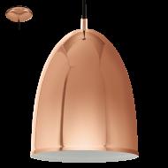 Závěsné svítidlo v měděném odstínu CORETTO 2 94744