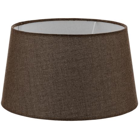 Textilní stínítko hnědé k pokojové lampě 1+1 VINTAGE 49659