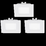 Sada LED bodovka zápustná bílá FUEVA 1 94733