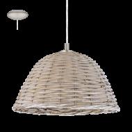 Stropní proutěná lampa vintage styl CAMPILO 2 94943