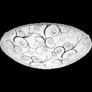 Stropní osvětlení kruhové nízké MARGITTA 1 96117