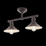 Stropní rustikální svítidlo STOCKBURY 49824