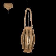 Rustikální závěsné svítidlo KINROSS 49725