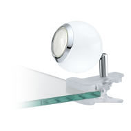 LED lampička s klipem - bílá BIMEDA 96839