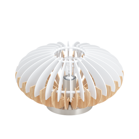 Stolní lampa s dřevěným stínítkem SOTOS 96965