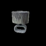 Stolní lampa s textilním stínítkem LAGONIA 1 97093