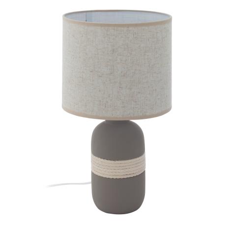Stolní lampa s textilním stínítkem SORITA 1 97097