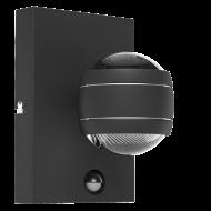Designové venkovní LED svítidlo, černé SESIMBA 1 96021