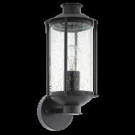 Venkovní nástěnná lucerna, černá MAMURRA 96222