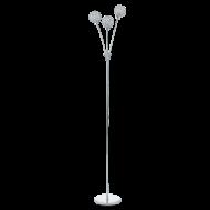 Stojací lampa vysoká chrom BERAMO 1