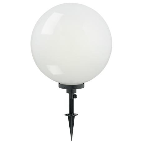 Venkovní osvětlení bílá koule zápich  TERRALUNA