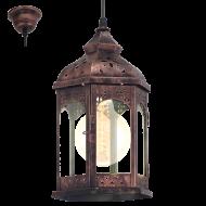 Závěsná lucerna na žárovku REDFORD 1 49224