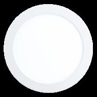 Vestavné kruhové světlo bílé FUEVA 1 94064