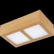 LED stropní přisazené osvětlení dřevěné COLEGIO 95196