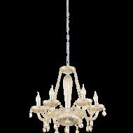 Závěsný lustr na řetězu BASILANO 39092