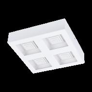 Designové LED svítidlo stropní/nástěnné ve tvaru čtverce FERREROS 96794