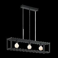 Závěsné svítidlo, černé ELSWICK 49564